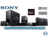 Sony DAV-TZ140 is a 5.1-channel home cinema system