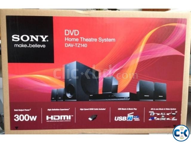 Sony DAV-TZ140 is a 5.1-channel home cinema system | ClickBD large image 1