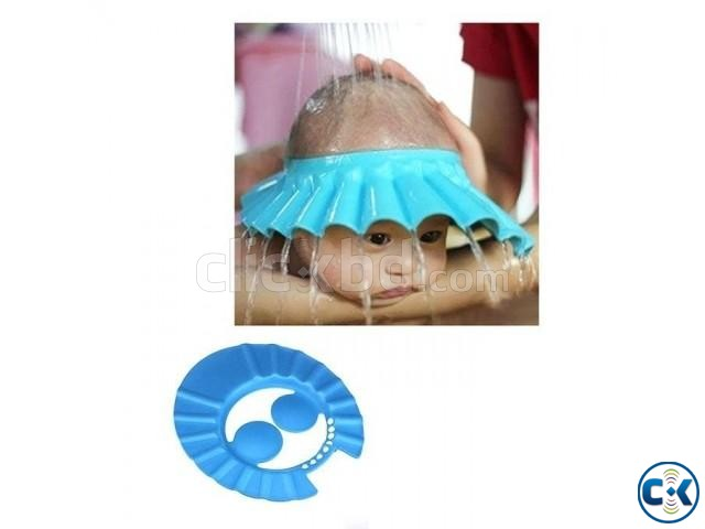 Baby Shower Cap With Ear Cover | ClickBD large image 0