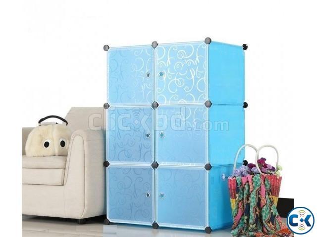 6 Cube Portable Wardrobe | ClickBD large image 0