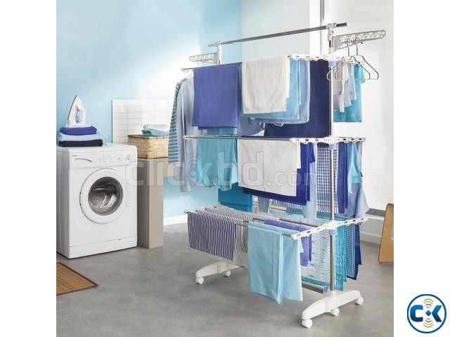 Multi-Function-Three-Layer-Dryer amargadget Big Size Cloth | ClickBD large image 0