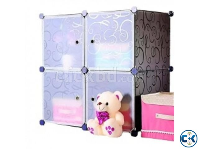 4 Cube Cabinet | ClickBD large image 0