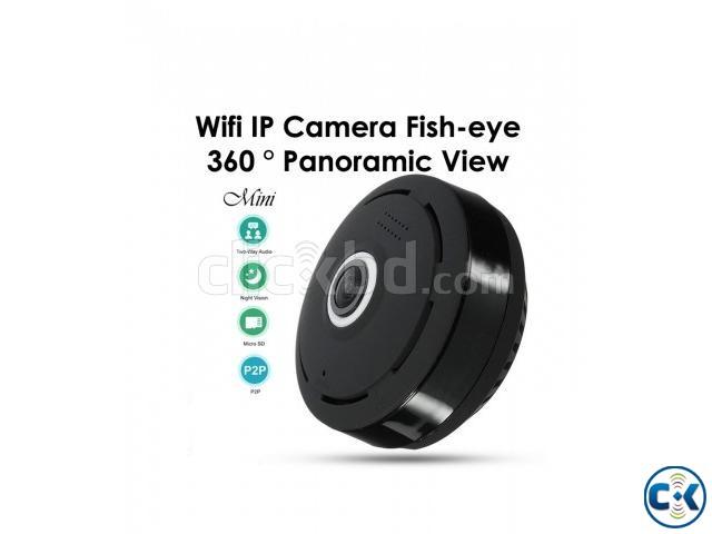 Wifi IP Camera Fish-eye Night Vision | ClickBD large image 0