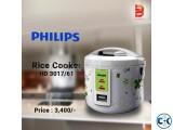 Rice Cooker HD 3017 61 Philips Brand