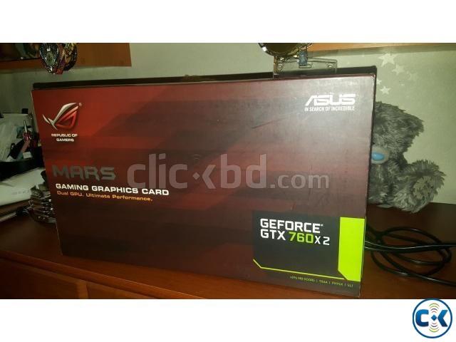 ASUS ROG MARS 760 4GB DDR5 Killer GRAPHICS CARD  | ClickBD large image 0