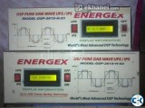 ENERGEX DSP SINEWAVE UPS IPS 400VA WITH BATTERY 5yrsWar.