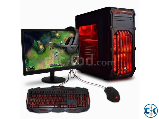 GAMING 3rd Gen Core i3 500GB 4GB 19 LED | ClickBD large image 3