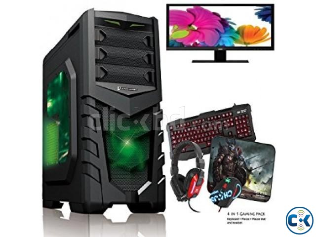 GAMING CORE i5 ASUS 1000GB 8GB 17 LED | ClickBD large image 1