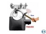 Anti-Theft Padlock Bike Door Alarm Lock-C 0211.