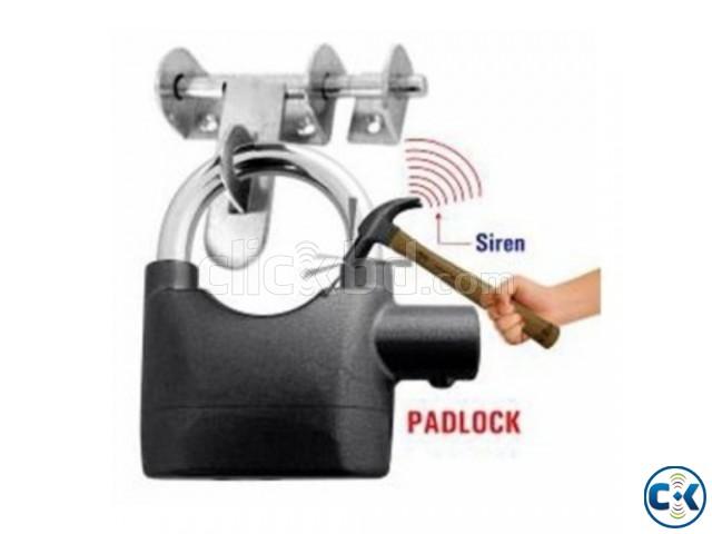 Anti-Theft Padlock Bike Door Alarm Lock-C 0211. | ClickBD large image 0