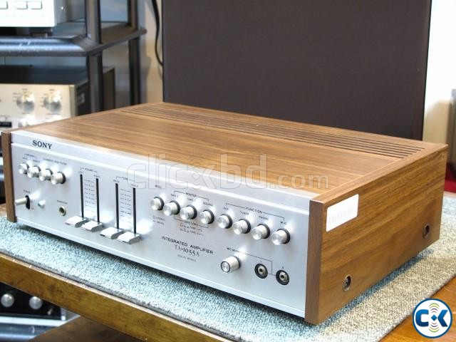 Sony TA 1055A Vintage Amplifier | ClickBD large image 0