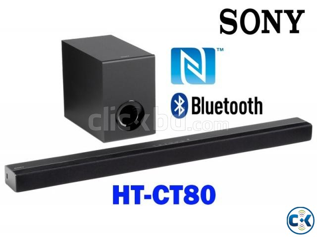 Sony HT-CT80 - 80Watt Bluetooth Sound Bar With Subwoofer | ClickBD large image 1