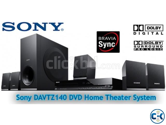 Sony DAV-TZ140 5.1ch 300W 1080p DVD Home Theater | ClickBD large image 2