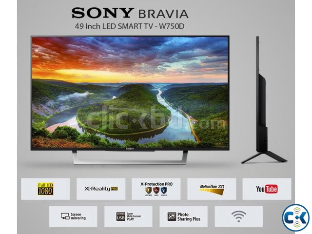 SONY BRAVIA 49 W750D X-Reality Pro FHD Smart LED TV | ClickBD large image 2