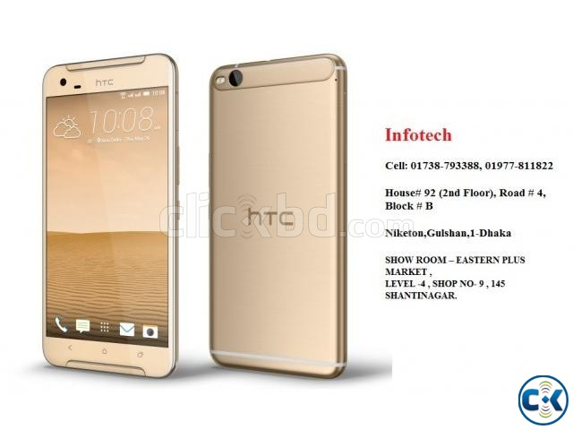 HTC-ONE X 9 32GB 3GB RAM BEST PRICE BD | ClickBD large image 1