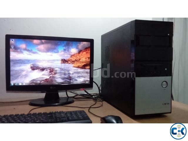 Full Computer with LG 19 LED Monitor | ClickBD large image 0