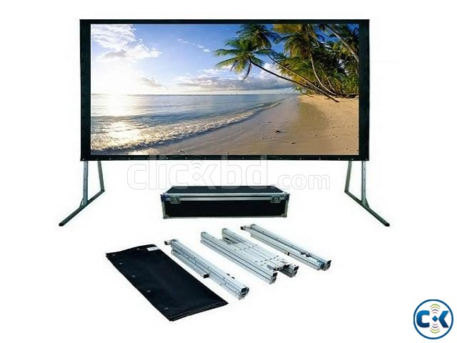 Dopah Fast Fold Projector Screen 180 Diagonal 144 x 108  | ClickBD large image 0