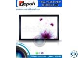 Dopah Fixed Frame Projector Screen 151 High Contrast Grey