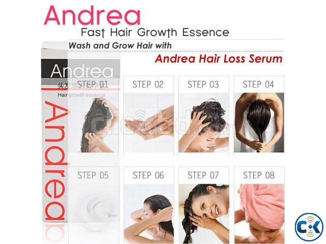 Andrea - Save Your HAIR from the ROOT | ClickBD large image 1
