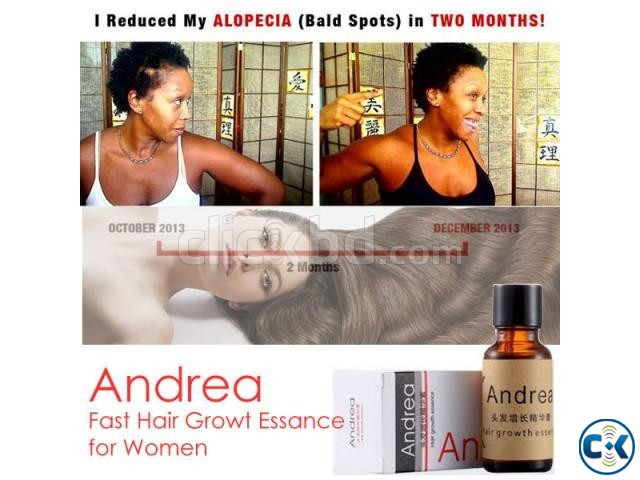 Andrea - Save Your HAIR from the ROOT | ClickBD large image 2