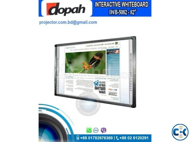Dopah IWB-5082 82 Digital Interactive White Board | ClickBD large image 0