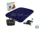 Bestway semi Double Air Bed free pumper intact Box