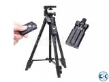 Tripod with Bluetooth remote control