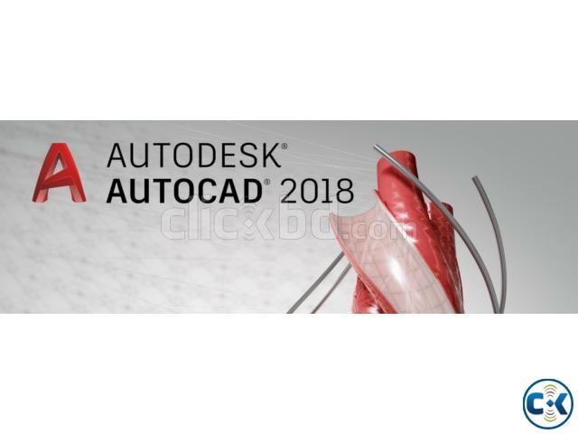 Autodesk AutoCAD 2018 x86-x64  | ClickBD large image 0