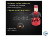 Car LED Headlight H4 Type 16 000LM Brightness ECZ03