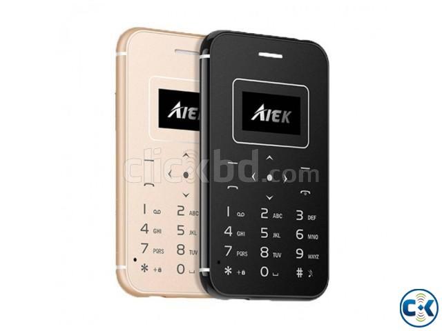 Aiek x8 Card Phone intact Box | ClickBD large image 0