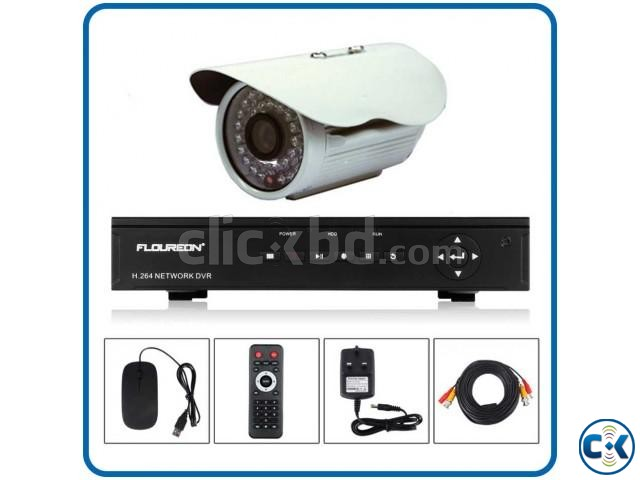 PCS CCTV Camera with DVR Package | ClickBD large image 0