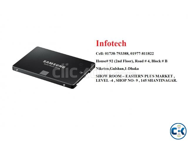 SAMSUNG 256GB SSD DRIVE | ClickBD large image 1