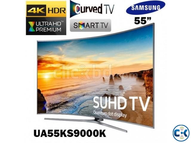 Samsung KS9000 55 4K SUHD Smart Curved Ultra Slim LED TV | ClickBD large image 0