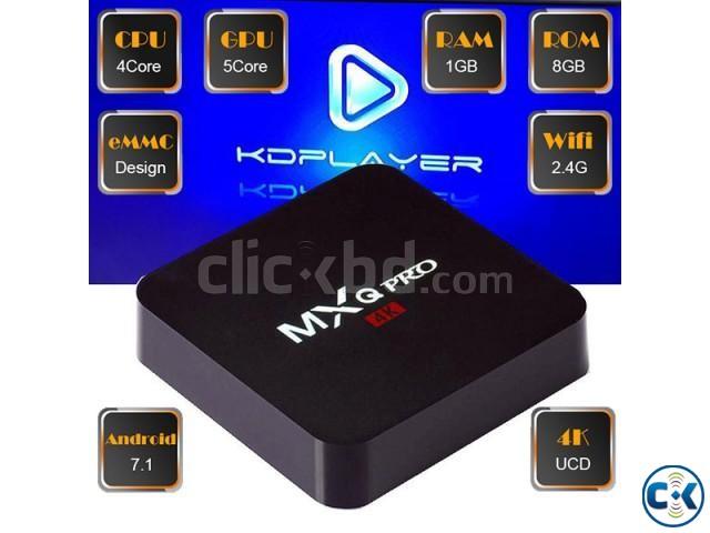 Original MXQ Pro Android 7.1 4k tv box | ClickBD large image 0