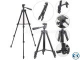 Tripod - 3120 Camera Stand and Mobile Stand -Black