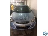 Hyundai Accent Bluu 2012