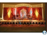Wedding stage decoration