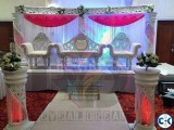Wedding stage decoration 2