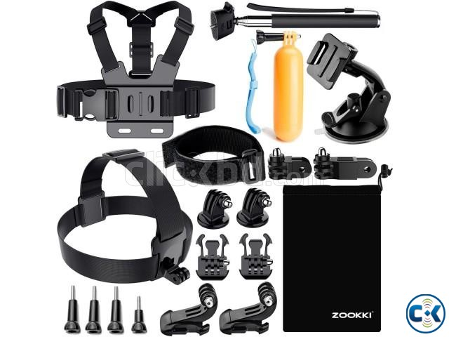 Soft Digits 50 in 1 Action Camera Accessories Kit | ClickBD large image 0
