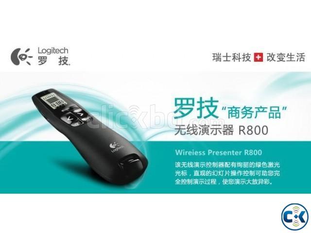 Wireless Presenter LogitechR800---01977784777 | ClickBD large image 0