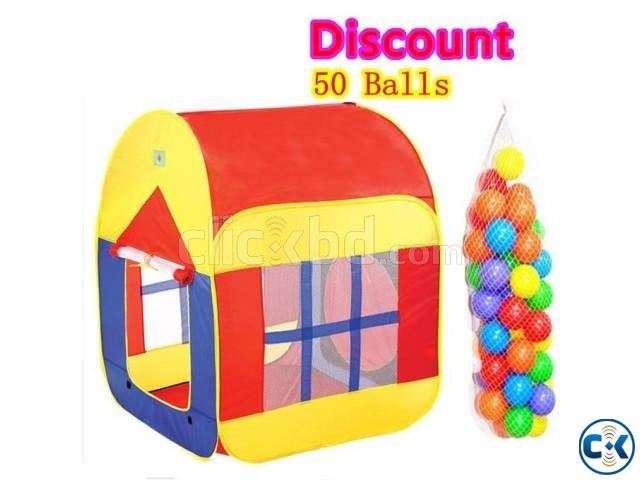 Baby Large Play Tent House | ClickBD large image 1