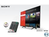 Sony Bravia X7500E 43 Flat 4K UHD Wi-Fi Smart Android TV