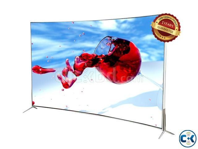 LED Full HD 49 Curved Android Smart Internet Television | ClickBD large image 1