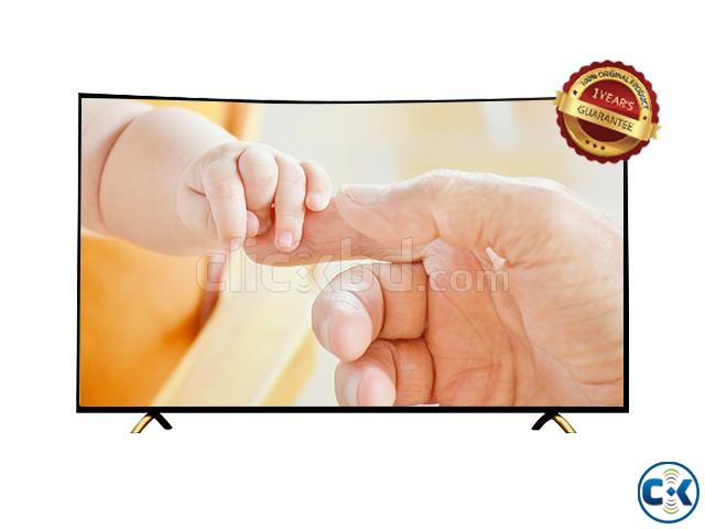 LED Full HD 49 Curved Android Smart Internet Television | ClickBD large image 2