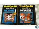 Slangman Biz Speak American English Learning Book Original