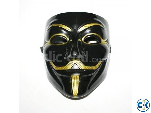 Vendetta Mask - Black | ClickBD large image 0