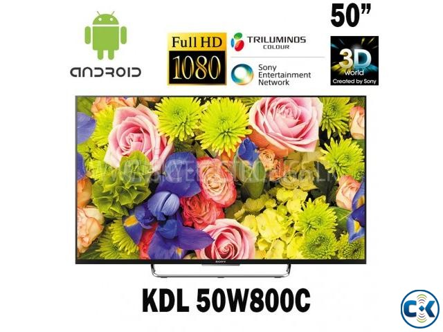 Sony Bravia W800C 50 inch Smart Android 3D LED TV | ClickBD large image 0