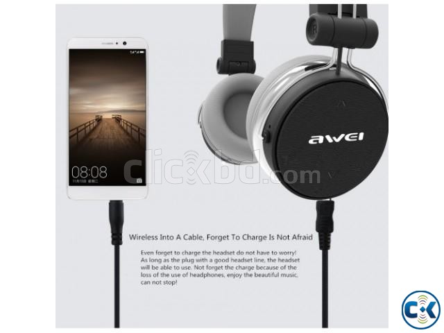 Wireless Bluetooth Active Dynamic 3D A700bl Stereo Headphone | ClickBD large image 1