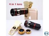 4 in 1 Universal Camera Lens