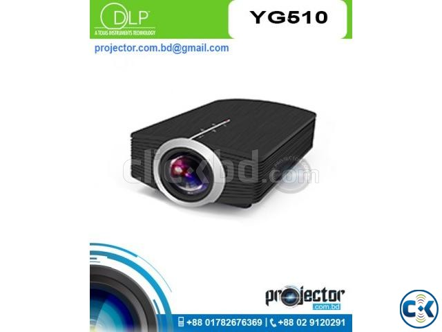 YG 510 Mini LED WiFi Mobile Projector | ClickBD large image 0